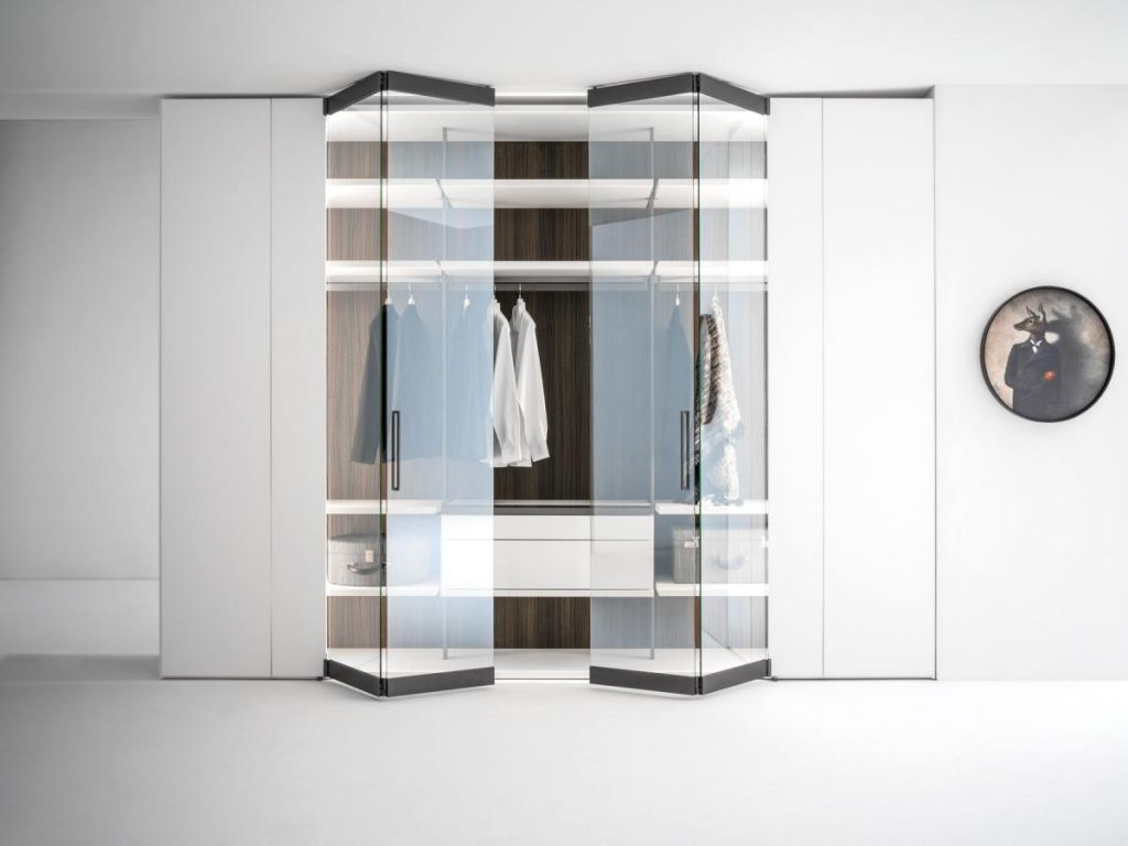 Sistema armadio componibile Caccaro.