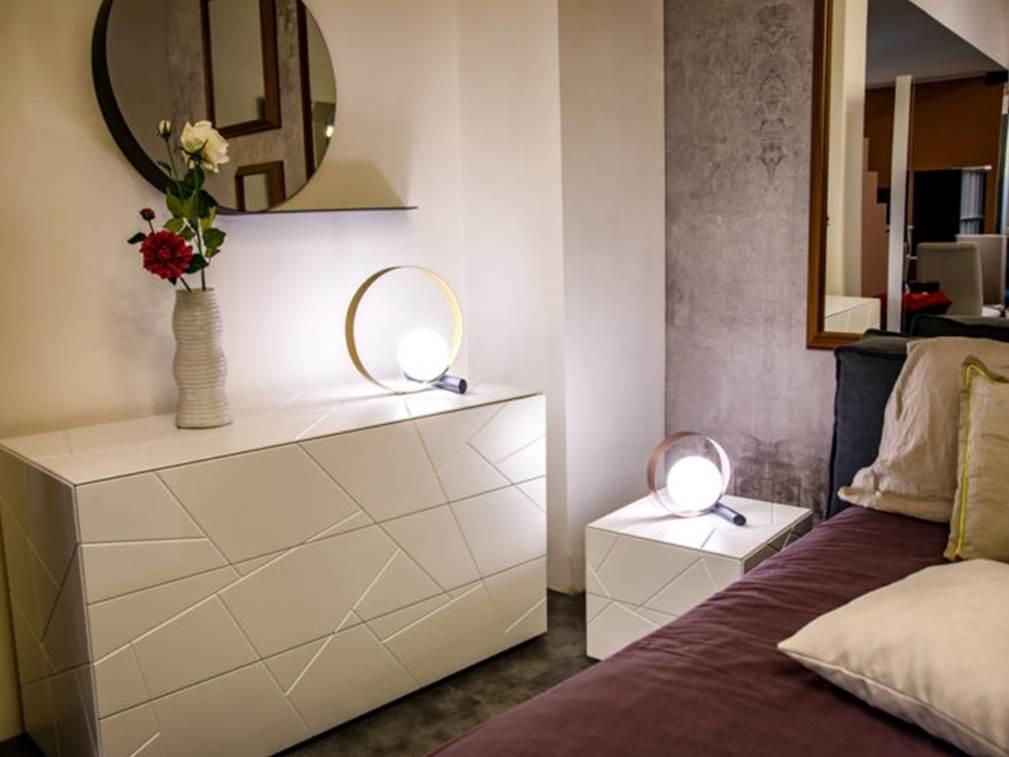 Illuminazione camera da letto.